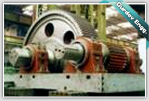 MULTI STAGE GEAR BOX BEING ASSEMBLED AT GURDEV ENGINEERS MACHINE SHOP